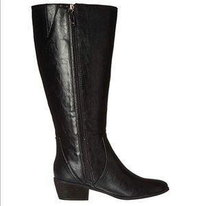 NIB Dr. Scholl's Women's Brilliance Wide Calf Boot